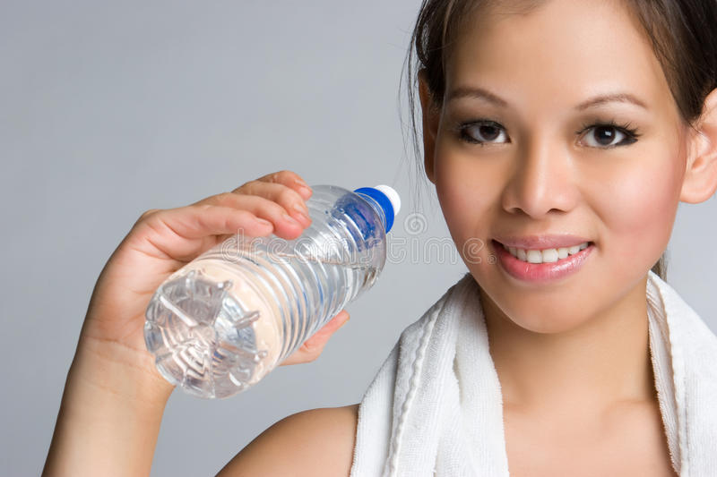 Download Asian Water Girl stock photo. Image of fitness, drink - 10545746