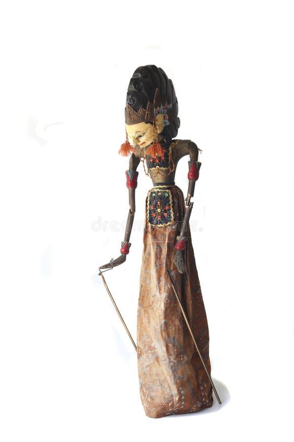 Asian wayang golek puppet royalty free stock images
