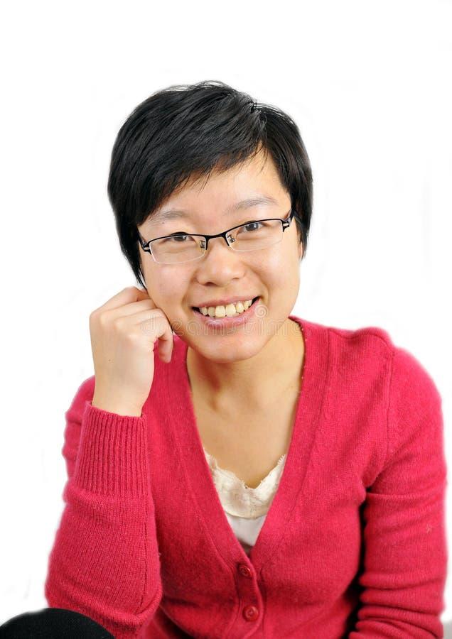 Asian white-collar woman
