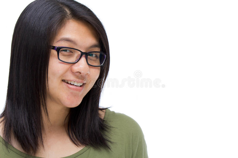 Download Asian woman stock photo. Image of smiling, portrait, blank - 27778076