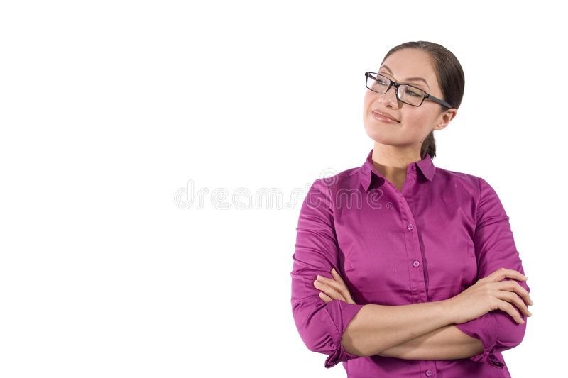 Download Asian Woman With Arms Crossed Stock Photo - Image: 8514996
