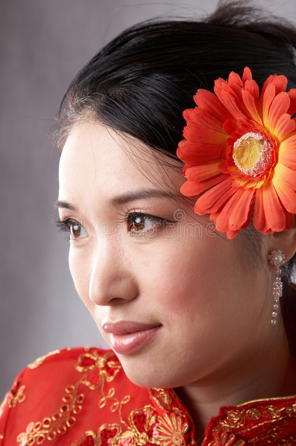 Download Asian woman face stock image. Image of asia, charming - 5743697
