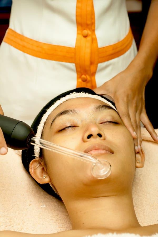 Free Asian Woman Face At Facial Treatment Stock Photography - 15921362