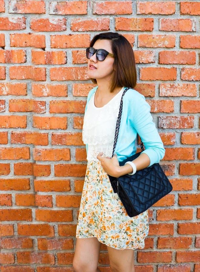 Asian woman in fashion stock photos