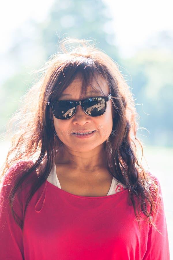asian woman fashion portrait royalty free stock photography