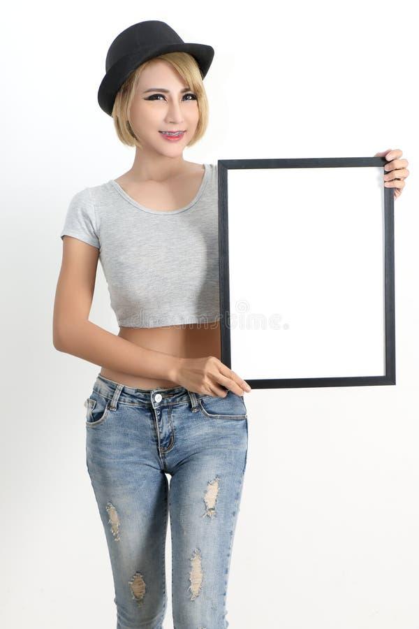 Asian woman fashion stock photo