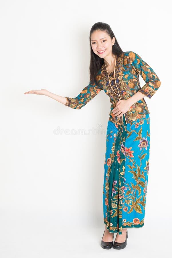 Asian woman hand holding something stock image