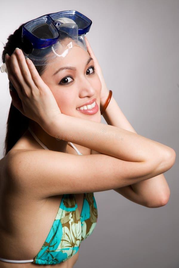 Free Asian Woman In Bikini Stock Image - 4786591
