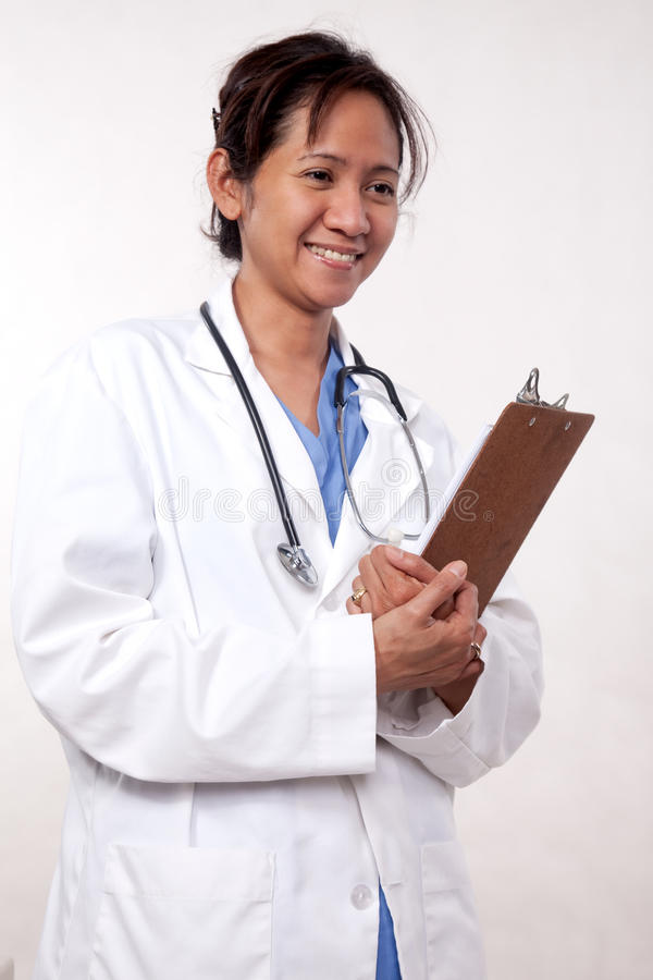 Asian Woman Medical Doctor Stock Images