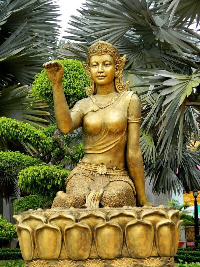 Free Asian Woman Mythological Statue Stock Photo - 58339200