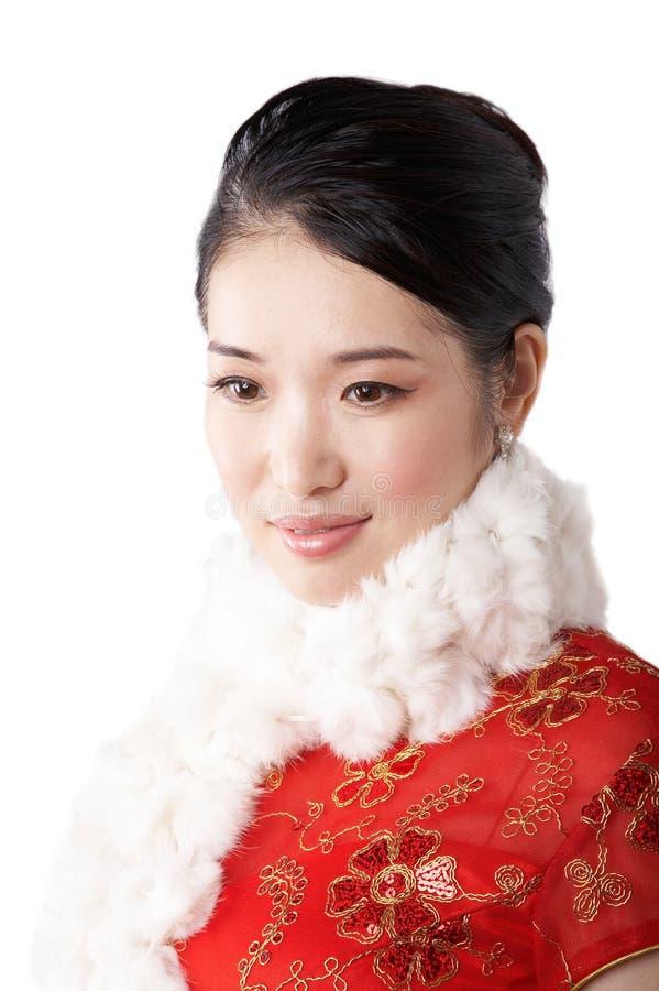 asian Woman portrait royalty free stock photos