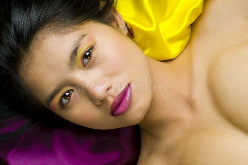 Download Asian woman posing nude stock image. Image of fresh, model - 9716423