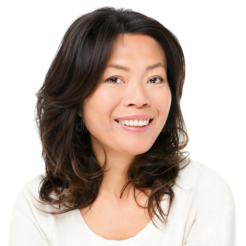 Free Asian Woman Smiling Happy Stock Photography - 23585292