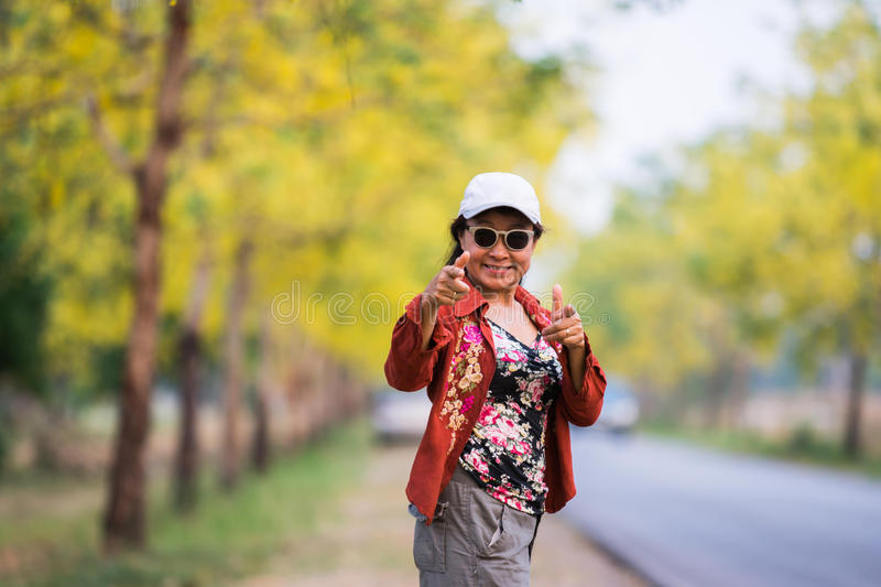 Asian women dress casual portrait royalty free stock images