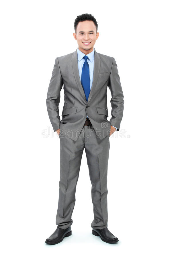 Asian young business man royalty free stock image