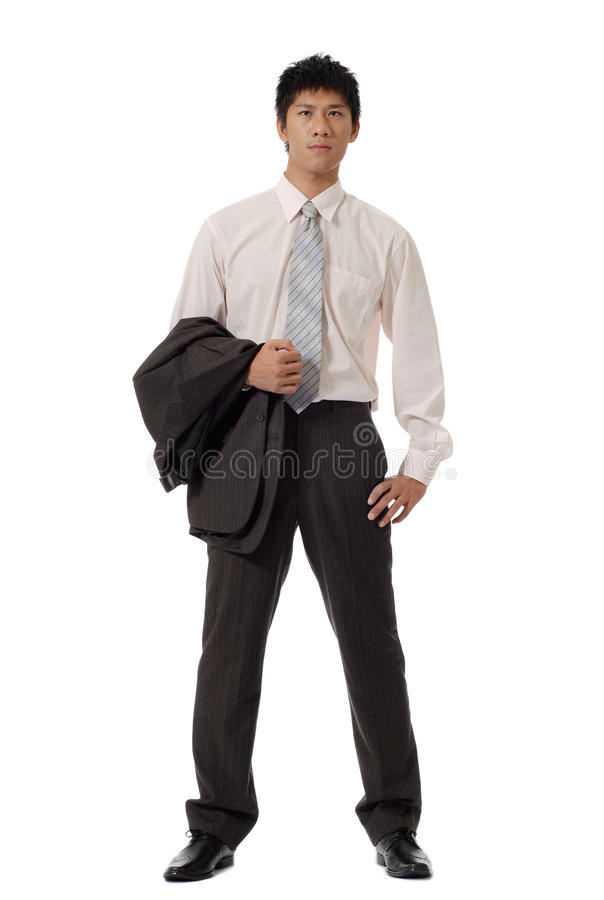Asian Young Businessma Stock Photography