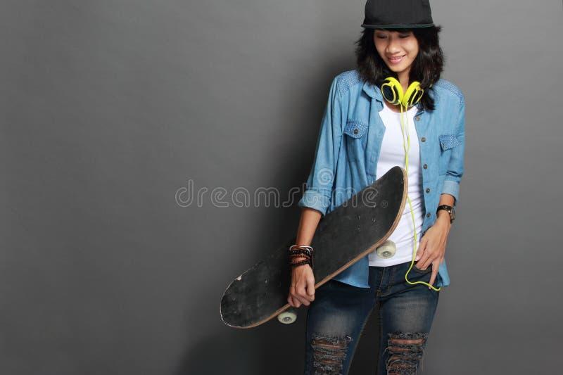 Asian Skater Girl