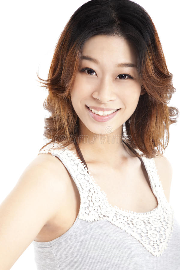 Asian young woman royalty free stock images