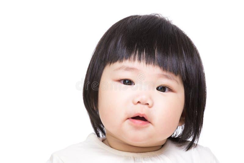 asiatet behandla som ett barn flickan fotografering för bildbyråer