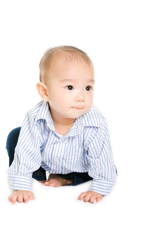 asiatet behandla som ett barn gulligt royaltyfria foton