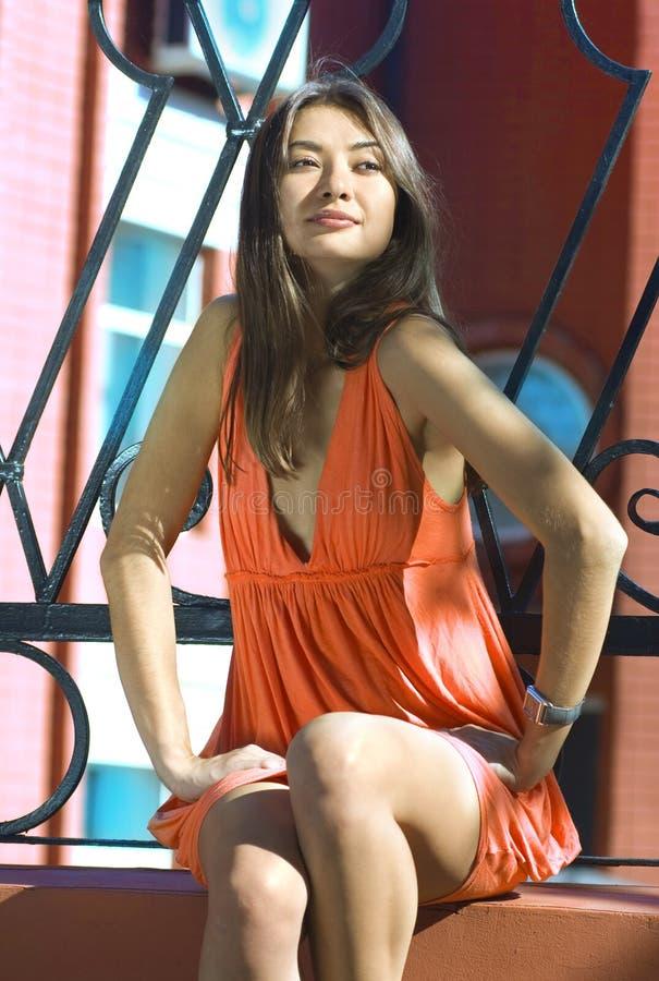 asiatic женщина стоковая фотография rf