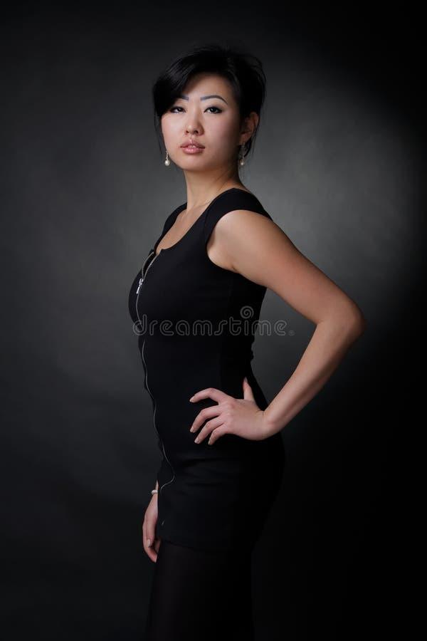 Asiatin lizenzfreies stockfoto