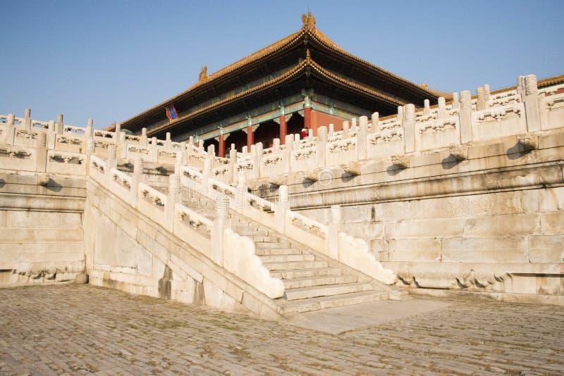 Asiatique Chine, Pékin, bâtiments historiques, le palais impérial images libres de droits