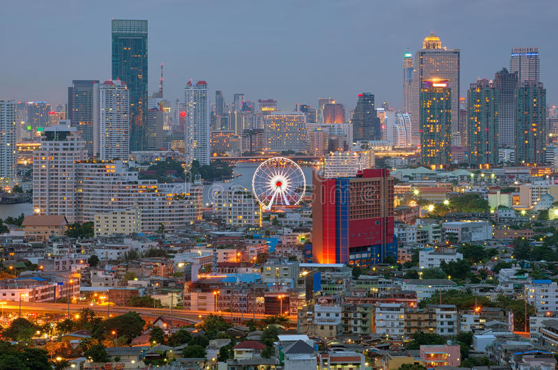 Asiatique o beira-rio, Banguecoque, Tailândia fotos de stock