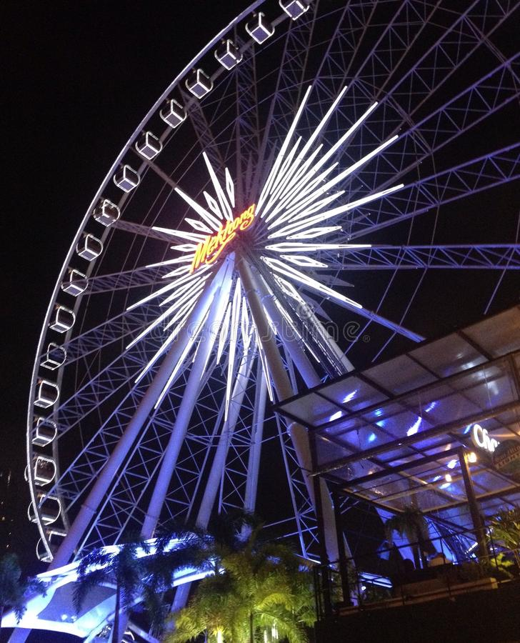 Asiatique the riverfront,view royalty free stock photography