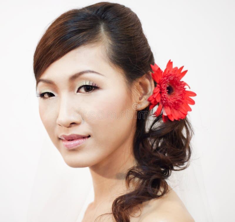 Asiatische Braut lizenzfreies stockbild