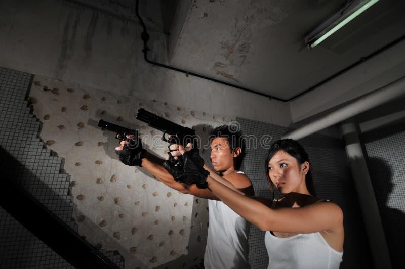 Asiatische chinesische Paare stockfotografie