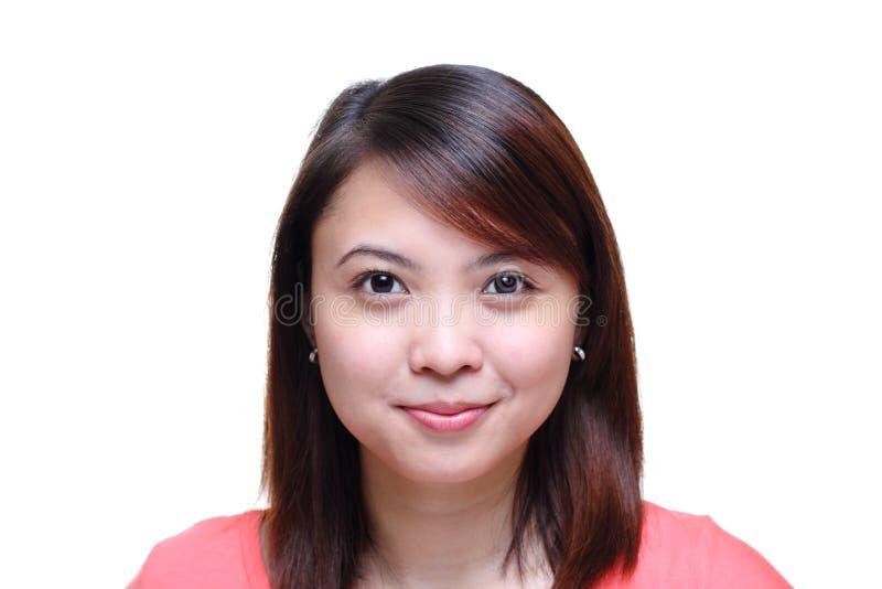 Asiatische Dame lizenzfreies stockfoto
