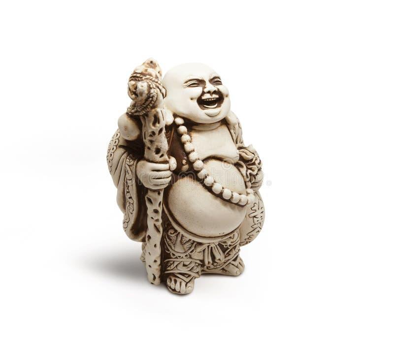 Asiatische dekorative Figürchen Hotai, Amulett holt Glück stockbild