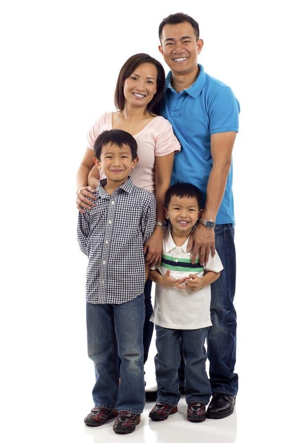 Asiatische Familie lizenzfreies stockfoto
