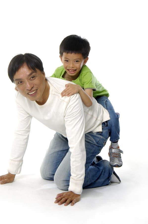 Asiatische Familie lizenzfreie stockbilder