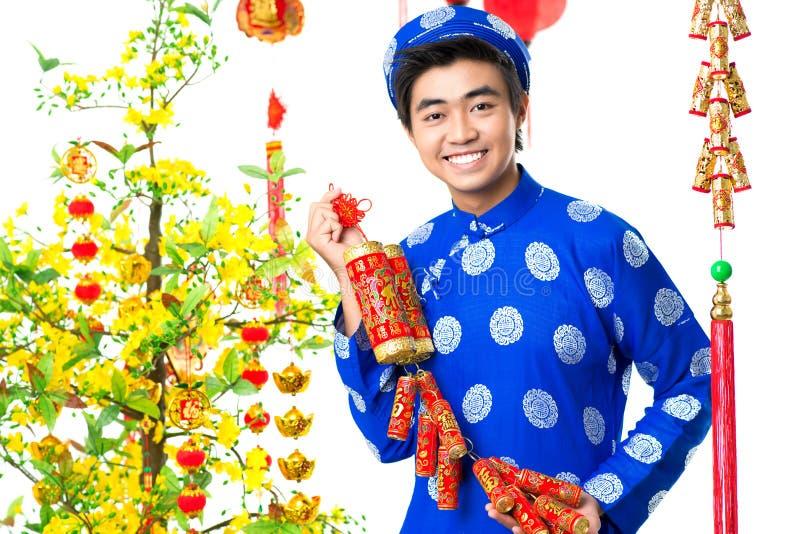 Asiatische Feier stockbild