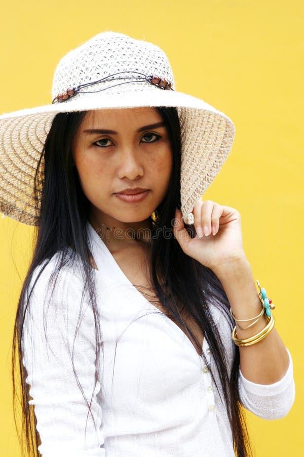 Asiatische Frau. stockfotografie