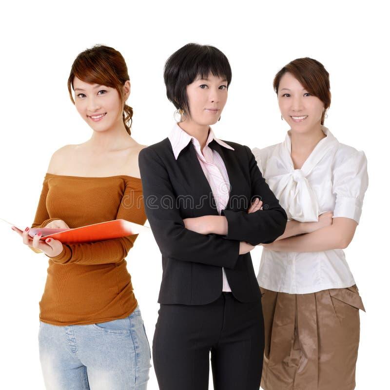 Asiatische Geschäftsfrauen stockbild