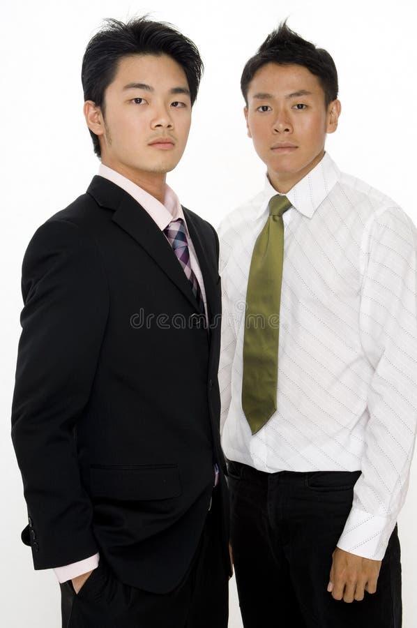 Download Asiatische Geschäftsmänner stockbild. Bild von stattlich - 863565