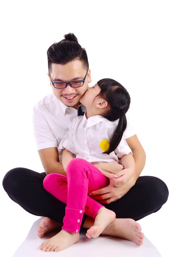 Asiatische glückliche Familie lizenzfreie stockfotografie