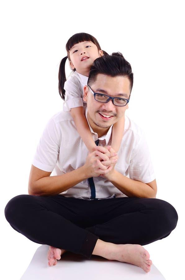 Asiatische glückliche Familie lizenzfreie stockfotos