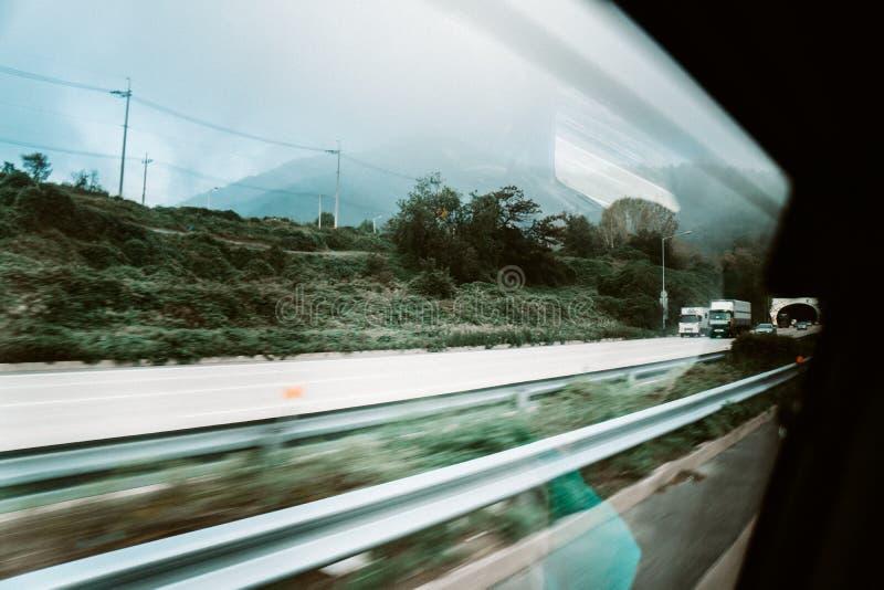 Asiatische Landstraße lizenzfreies stockfoto