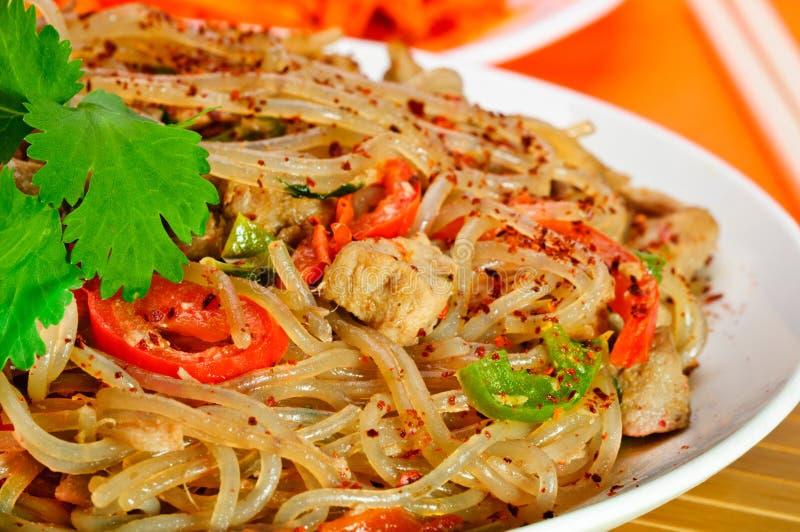 Asiatische Nahrung. stockfotos