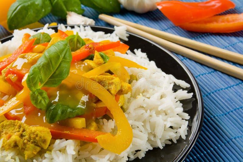 Asiatische Nahrung lizenzfreie stockbilder