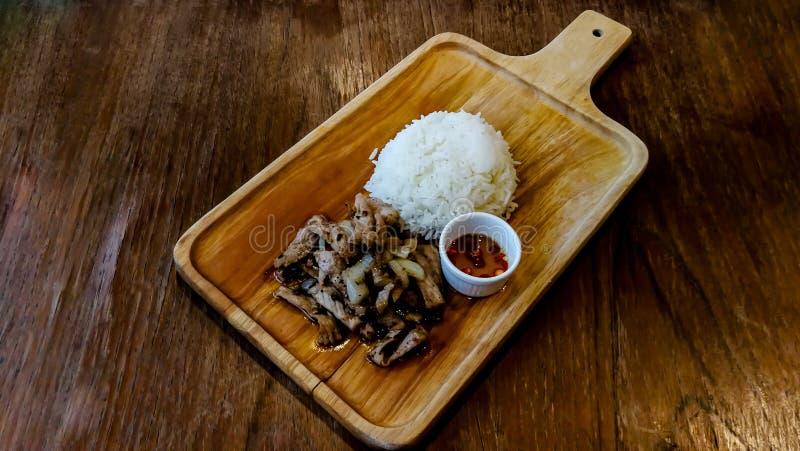 Asiatische Nahrung, schwarzes Pfefferkorn, Abendessen, Nahrung, feinschmeckerisch lizenzfreie stockfotos