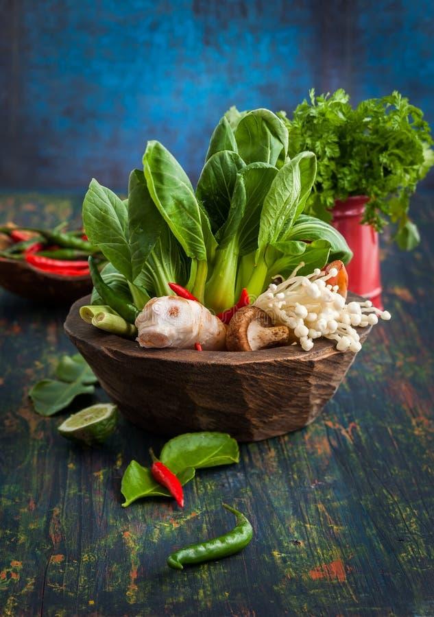 Asiatische Nahrungsmittelbestandteile lizenzfreie stockfotografie