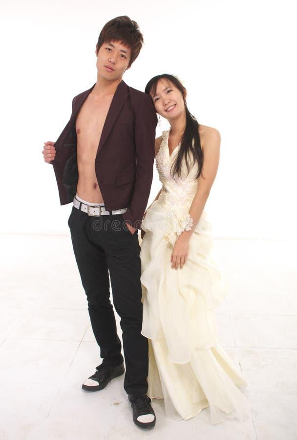 Asiatische Paare stockbilder