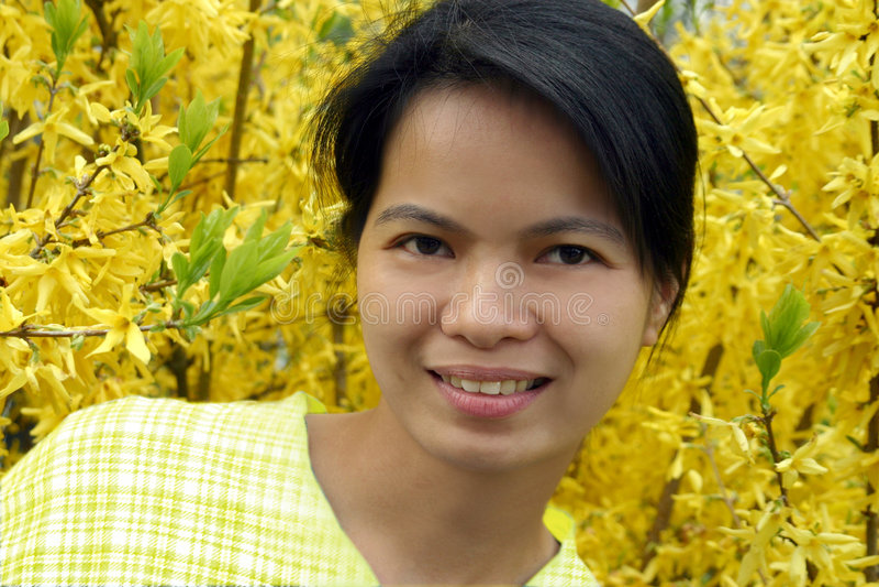 Asiatische Schönheit lizenzfreie stockfotos