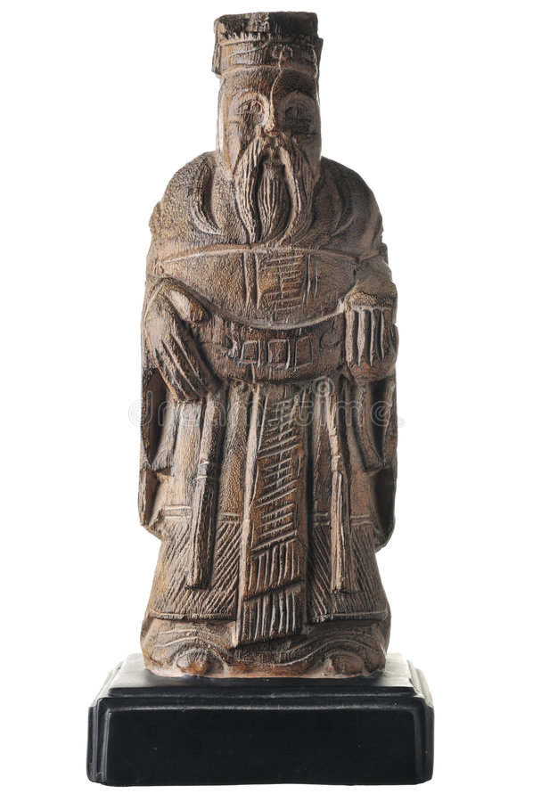 Asiatische Statue stockbild
