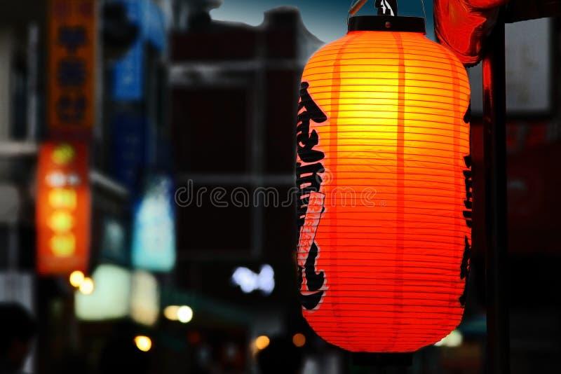 Asiatische Straße stockbilder